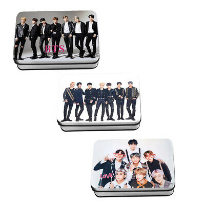 KPOP BTS 5th Muster ANAN SYS LOMO CARD 40pcs Polaroid Photocards in Iron BOX