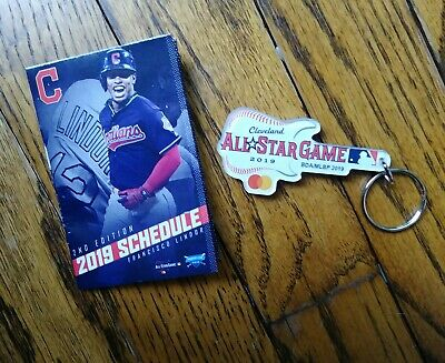 2019 All Star GUITAR KEYRING/CHAIN Cleveland Playball Park ASG STH MLB +schedule