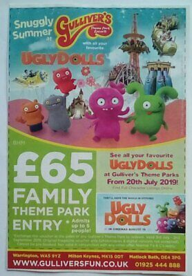 Gullivers Theme Park Resorts Family Discount Voucher Coupon - Valid Up To 2 Sep