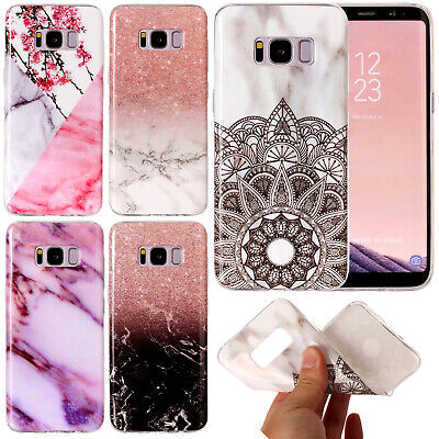 For Samsung Galaxy S5 S6 S7 edge S8 Note 9 Case Rubber TPU Soft Silicone Cover