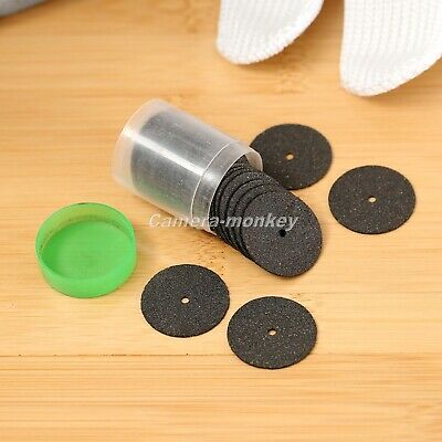 36pcs 24mm Reinforced Cut Off Grinding Wheels Rotary Metalworking Black Disc UK