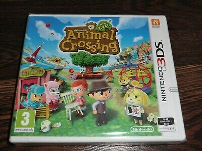 Animal Crossing New Leaf  Nintendo 3Ds New  Sealed