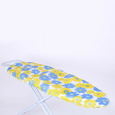 1x Easy Multi Fit Elasticated Ironing Board Cover Backing Washable 140*50cm 2019