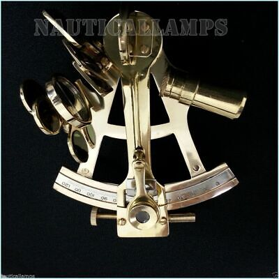 """Solid Brass Sextant Astrolabe Marine Nautical Maritime Gift Ships Instrument 4"""""""