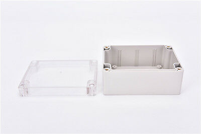 Waterproof 115*90*55MM Clear Cover Plastic Electronic Project Box Enclosure ^F