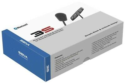 Sena 3S Bluetooth Headset And Intercom For Scooters And Motorcycles
