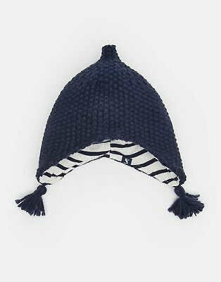 Joules Baby Softy Knitted Elf Hat in FRENCH NAVY
