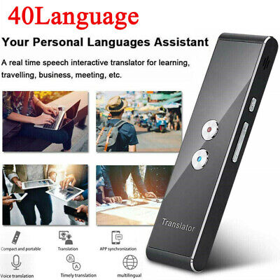 Translaty MUAMA Enence Smart Instant Real Time Voice 40 Languages Translator CA
