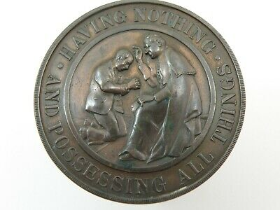 Historical Medal - PILGRIMAGE OF UNEMPLOYED TO ROME PAPAL BRONZE MEDAL (OS01)