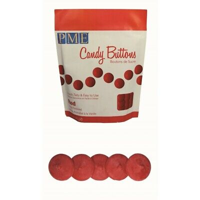 5 x 12oz PME RED Candy Button Melts Pops Sugarcraft Cake Cookie Decoration Dip