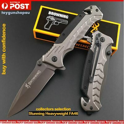 Best Folding Knife Pocket Survival Tactical Hunting Camping Knife Dagger FA46