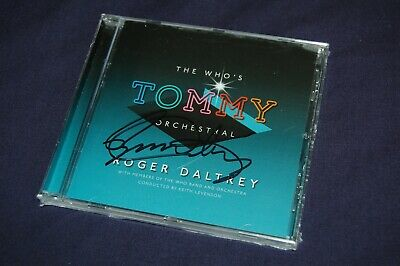 Roger Daltrey - The Who's Tommy Orchestral (2019) SIGNED/AUTOGRAPHED CD