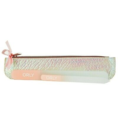 Orly Deluxe Crystal Nail File Duo Set (Pink)