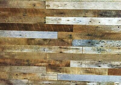 * Accent Wallboards* From Reclaimed Barnwood Lumber (10 Sq. Ft)