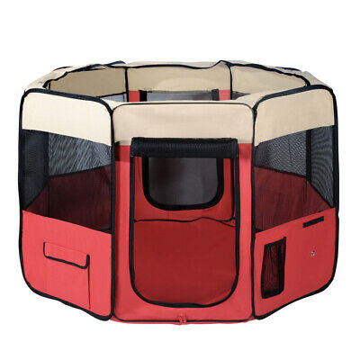 i.Pet Pet Soft Playpen Play Pen Dog Puppy Cat Play Crate Cage Tent Portable XL