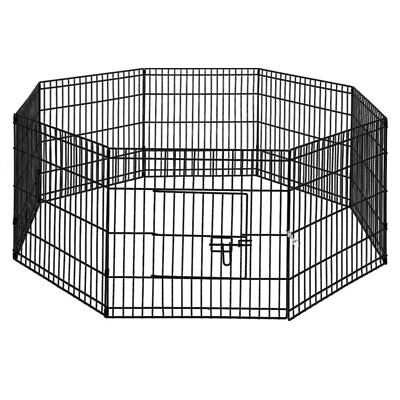 i.Pet 24' 8 Panel Pet Dog Playpen Puppy Exercise Cage Enclosure Fence Play Pen