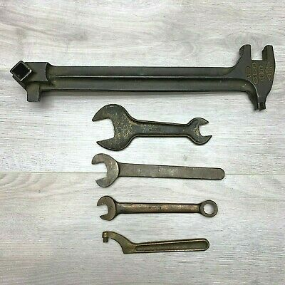 LOT of 5 Vintage Non Sparking Wrenches AMPCO Berylco Williams Spanner Oxweld
