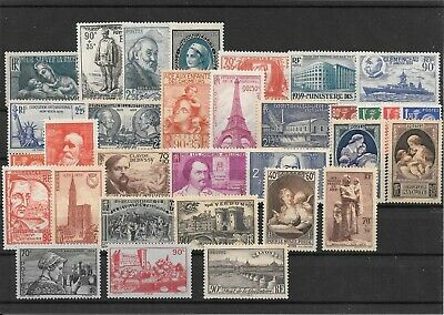 France Annee Complete 1939 Du N° 419/50 Neuf Sans Charniere+++++++++++