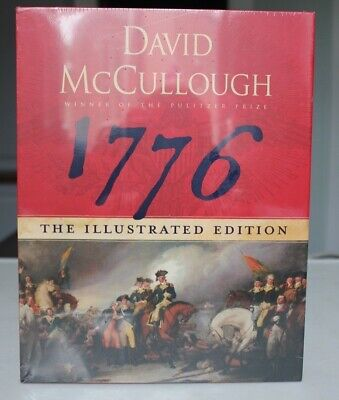 1776 by David McCullough (2007, Hardcover, Illustrated Edition) NEW Sealed