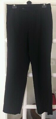 F&F UK 30/31 Men's Black Trousers