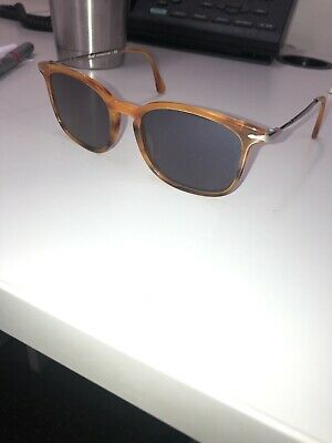 1b6f33a3917a PERSOL 3173S Yellow Blue Lense POLARIZED 24/57 SUNGLASSES 3173 CALLIGRAPHER  EDT