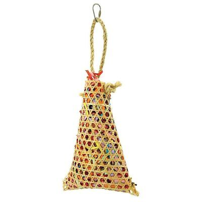 Foraging Pouch Chewable Parrot Toy