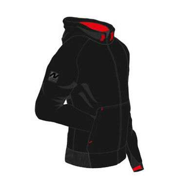 Nitro Black Aramid Armoured Protective Motorcycle Hoodie