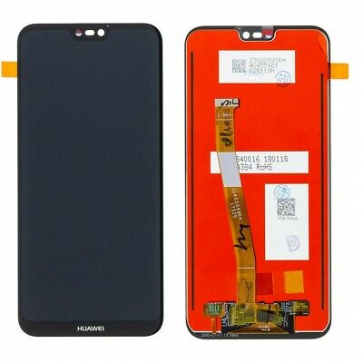 Lcd Display Huawei P20 Lite Ane-Lx1 Touch Screen Schermo Monitor Vetro Nero