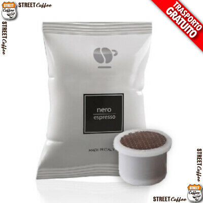 600 CIALDE CAPSULE CAFFE LOLLO MISCELA NERA UNO SYSTEM INDESIT KIMBO ILLY gratis