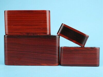 High-End Wood Snuff Bottle Display Base Stand Bracket Craft Collection Gift