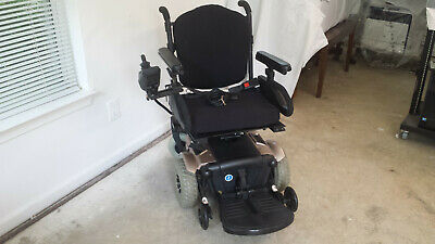 pride jazzy 1103 ultra electric wheelchair | power seat elevates| new  batteries