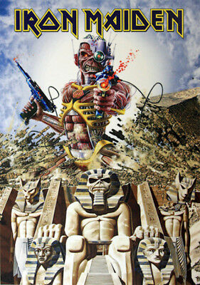 IRON MAIDEN - SOMEWHERE BACK IN TIME POSTER - 24x36 - MUSIC 52999