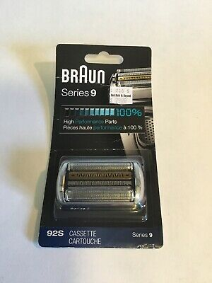 Braun 92S Replacement Foil & Cassette Series 9 Electric Shaver Cartridge Refill