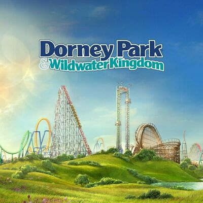 1 Dorney Park Tickets - 1 Day General Admission ticket Free Shipping 2019