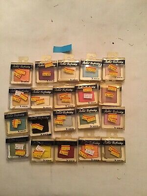 Mokuba Ribbon Embroidery  Floss 20 Mixed Colors Unused Packages of Ribbon