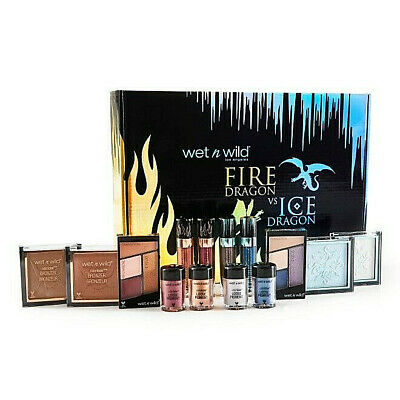 Wet N Wild Fire Dragon VS Ice Dragon Collection Box ~ Full Influencer PR Package