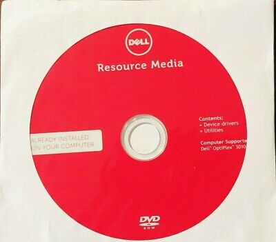 NEW SEALED DVD Dell Resource Media OptiPlex 7010 Device Drivers
