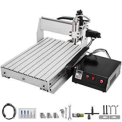 3 Axis CNC 6040 Engraving Milling Machine Woodworking 1605 Ball Screw Engraving