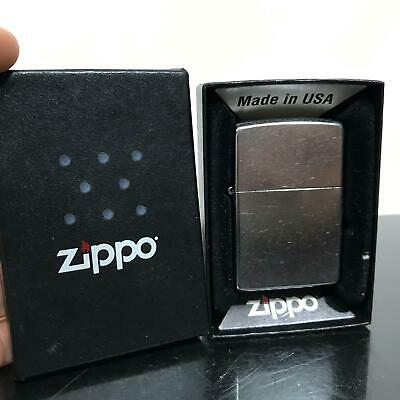 NEW Zippo Silver Tone Pocket Lighter w/ Box