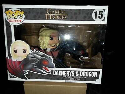 Daenerys and Drogon Funko POP Rides: Game of Thrones Figure Collectible,2016