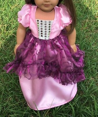 "Fits 19"" Chatty Cathy Doll CLothes Princess or Fairy Dress Party Prom Costume"