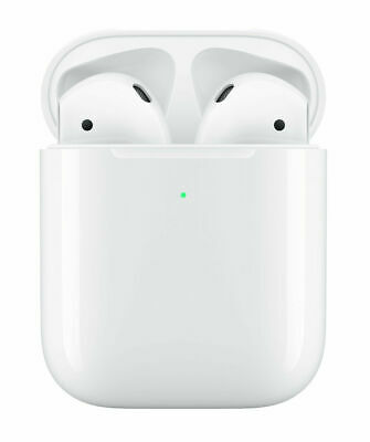 Apple AirPods 2nd Generation w/ Wireless Charging Case, White (MRXJ2AM/A) – NEW