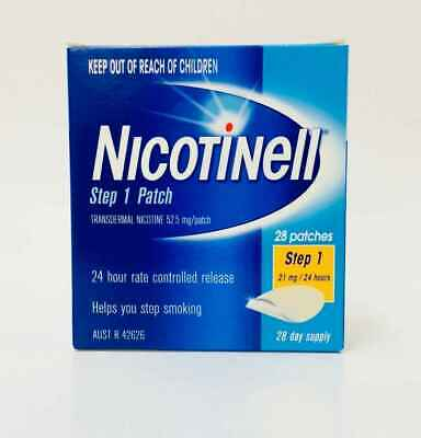 Nicotinell Step 1 Patch 21mg 28 Patches