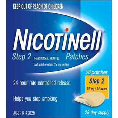 Nicotinell Step 2 Patch 14mg 28 Patches
