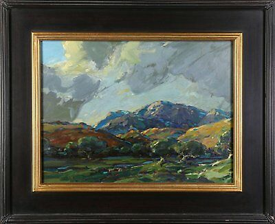 Karl Schmidt Landscape Painting California Arts & Crafts Artist Early 20th Cent.