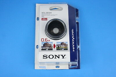 Sony VCL-0630X Wide Conversion Lens 30mm for DCR-SR40 & 80 Camcorders - Mint