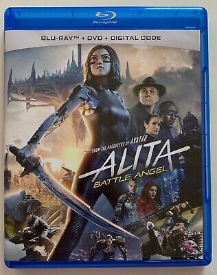 Alita Battle Angel Blu Ray 1 Disc Only Free World Wide Shipping Buy It Now Actio