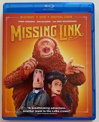 Missing Link Blu Ray 1 Disc Only Free World Wide Shipping Buy It Now Hugh Jackma