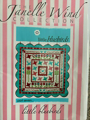 Janelle Wind Collection - Little Bluebirds Kit -- Patchwork/Quilting