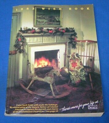 1983 SEARS WISH Book Christmas Catalog Vintage Toys Atari Barbie GI